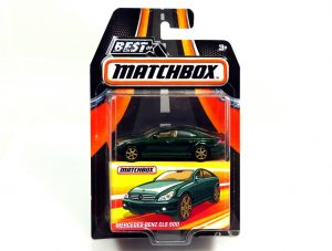 Best-of-Matchbox-Series-2-Mercedes-Benz-CLS-500-green-&-gold