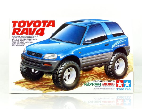 Tamiya-19015-Mini-4WD-Toyota-Rav4-RV-Chassis-Made-in-Japan-0