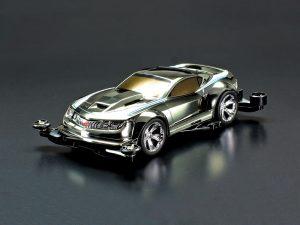 Tamiya-95596-mini-4wd-Rowdy-Bull-Black-Metallic-Body-FM-A-Chassis
