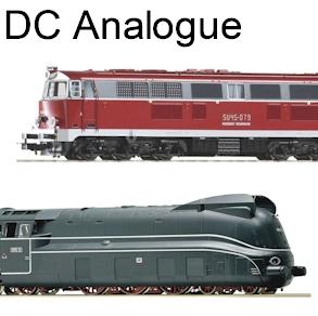 HO Locomotives DC Analogue