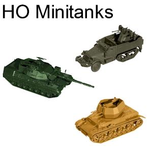 HO Roco Minitanks