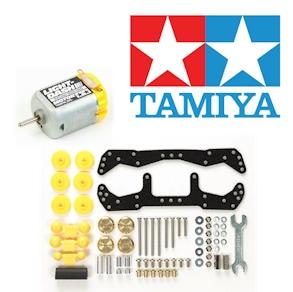 Tamiya Mini 4WD Parts & Accessories